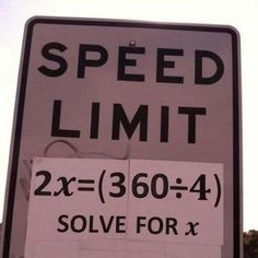 If only the ability to solve this problem were a requirement for obtaining a driver's license...