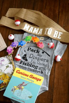 Fishing-Themed Baby Shower Fishing-Themed Baby Shower – Baby Gift – This Little Home of Mine Baby Shower Parties, Baby Shower Themes, Baby Boy Shower, Shower Ideas, Themed Baby Showers, Bridal Showers, Baby Shower Gift Basket, Baby Shower Gifts, Baby Gifts