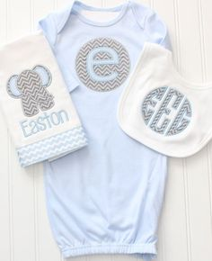 Hey, I found this really awesome Etsy listing at https://www.etsy.com/listing/223206053/monogrammed-baby-gown-monogrammed