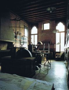 Fortuny's studio, Venice Italy. Worth a visit, or two or ten
