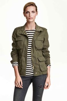 H & M  Cargo jacket