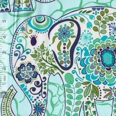 Karavan Marrakech Peacock. Fabric by Valori Wells for FreeSpirit. Available at Quilt Expressions.