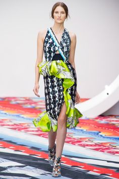 Peter Pilotto Spring 2013 RTW - Review - Fashion Week - Runway, Fashion Shows and Collections - Vogue - Vogue