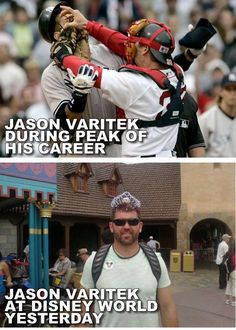 Former Red Sox Captain Jason Varitek Went From Throttling A-Rod To Rocking A Tiara (Photo)    Read more: http://news.fanfeedr.com/2012/04/02/former-red-sox-captain-jason-varitek-went-from-throttling-a-rod-to-rocking-a-tiara-photo/#ixzz1qtpKqEMo