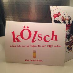Can't wait until Thursday  #Köln #Karneval #Cologne #KölleAlaaf #Kölsch #Beer #winter #Thursday #postcard #friends #germany #happy #holiday #carnival #100happydays #Day65