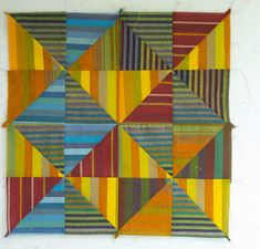 Block of the month block by stitchindye on Flickr.