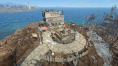 Croup Manor = your own little Bunker Hill! Fallout 4 Settlement Ideas, Croup, Bethesda Games, Bunker Hill, Fall Out 4, Apocalypse, Ps4, Miami, Gaming