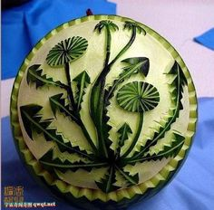 No need to destroy a melon to play with it.