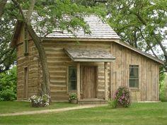 1858 Log Cabin Bed and Breakfast in Glenville Minnesota