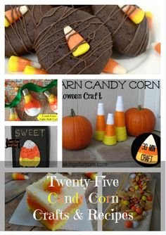 Kids Halloween Party Ideas using Candy Corn - Candy corn food, candy corn crafts - EVERYTHING CANDY CORN!