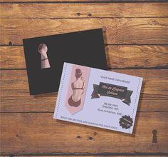 Caixa de Pandora - design em papelaria | Chá de Lingerie