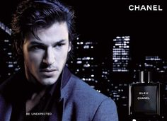 Bleu de Chanel Perfume - The Perfume Girl. Fragrances and colognes from fashion houses and perfume designers. Scent resources, perfume database, and campaign ad photos. Gaspard Ulliel, Martin Scorsese, Chanel Commercial, Cologne, Chanel Men, Parfum Chanel, Perfume Ad, Perfume Bottles, French Models