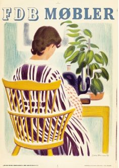 San Francisco's only antique poster art gallery specializing in vintage posters including American and European Art Nouveau, and Art Deco posters and much more. Art Deco Posters, Vintage Posters, Denmark History, Danish Chair, Retro Advertising, Ads, Coffee Poster, Danish Design, Illustration Art