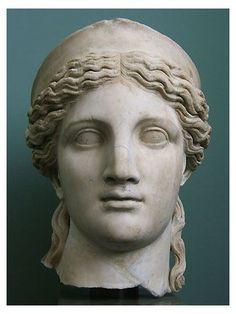 Ancient Greek Sculpture, Greek Statues, Roman Sculpture, Sculpture Art, Helen Greek Mythology, Street Art, Stone Statues, Ancient Greece, Woman Face