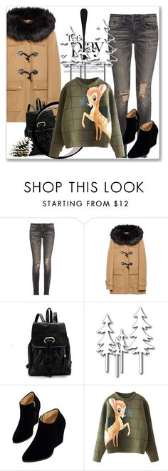 """Casual Monday"" by andrejae ❤ liked on Polyvore featuring R13, Zara, WithChic, women's clothing, women, female, woman, misses, juniors and outfitoftheday"