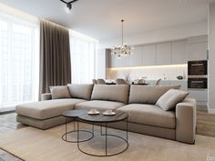 This unique warm living room is unquestionably a striking style philosophy. Elegant Living Room, Living Room Modern, Home Living Room, Living Room Decor, Apartment Interior, Interior Design Living Room, Living Room Designs, Muebles Living, Home Room Design