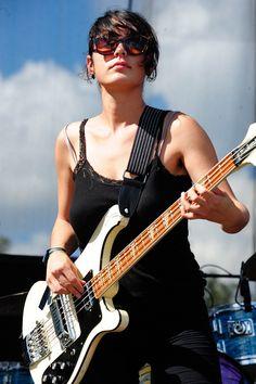 Jenny Lee Lindberg from Warpaint