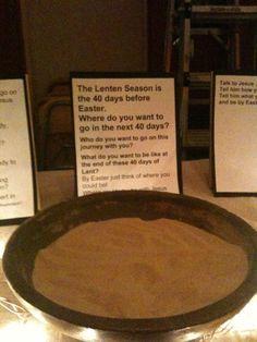 Lenten prayer stations