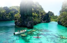 El Nido Miniloc Island Resort, Northern Palawan - Philippines. Some of the best eco diving in the world.