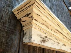 The Appalachian Shelf - Rustic farmhouse mantle shelf