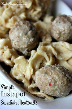 Learn how to cook Swedish Meatballs using your instant pot. It only takes 15 minutes to cook this yummy recipe.