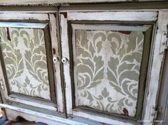 For kitchen cabinets Large Damask Wallpaper Pattern Stencils - Acanthus Damask Stencil for Painting Elegant Accent Walls - Royal Design Studio Decor, Furniture, Stencils, Damask Wall, Painted Furniture, Stencils Wall, Diy Cabinets, Diy Cabinet Doors, Stencil Furniture