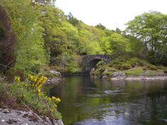 The River Shiel in Scotland