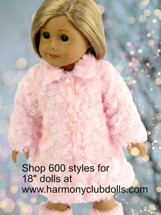 "Shop fits American Girl Doll Clothes at <a href=""http://www.harmonyclubdolls.com"" rel=""nofollow"" target=""_blank"">www.harmonyclubdo...</a>"