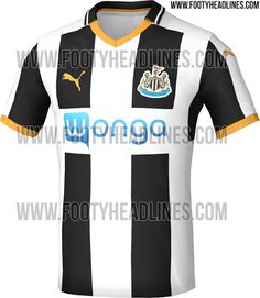 The Newcastle United 2016-2017 Home Jersey features a classy design (apart  from the 98e093050