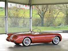 1955 Chevrolet Corvette | C1 | V8, 265 in³ / 3,687 cm³ | 195 bhp