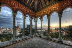 #genova #hdr #panorama dal castello d'Albertis