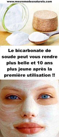 Le bicarbonate de soude peut vous rendre plus belle et 10 ans plus jeune après la première utilisation !!
