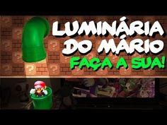 Luminária do Mario Bros: Fácil e Barata. Faça a sua! - YouTube