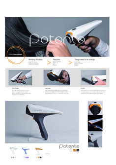 hair dryer design by Diego TU