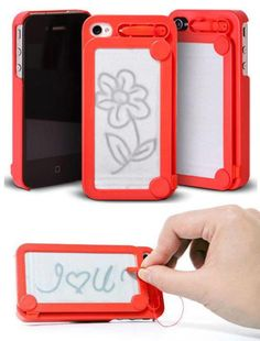Etch e sketch phone case ... Need this
