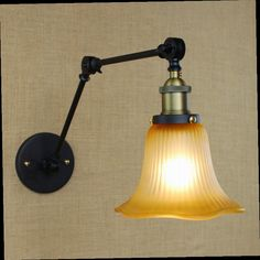 53.49$  Buy now - http://alipci.worldwells.pw/go.php?t=32643885684 - industrial style reto antique rust wall lamp/swing arm wall lighting for workroom/Bathroom Vanity 2 applies arm Tornado
