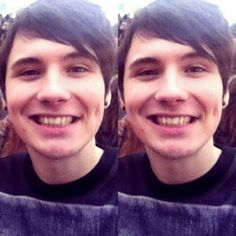His single dimple and crooked smile is the cutest thing on this planet I swear