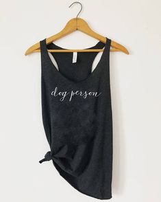 d4bc0ee07 Items similar to Dog person tank, Dog person, Dog mom tank, Dog mama, Dog  gym tank, Dog tank, Gym tank, workout dog tank, Women's Racerback Tank on  Etsy