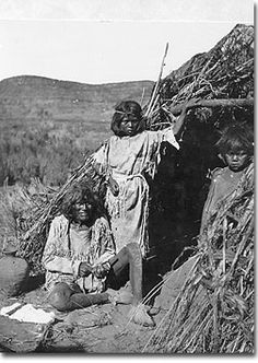 Paiute Indians in Utah during the depression. Two of the five groups of Paiute participated in the IRA.