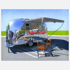 Palm Springs Airstream Print now featured on Fab.