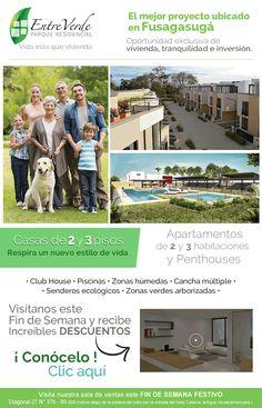 #NOVOCLICK esta con #Entre Verde #Apartamentos y Casas en Fusagasugá