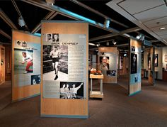 movable partitions-museum wall panels-Colorado Sports Hall of Fame