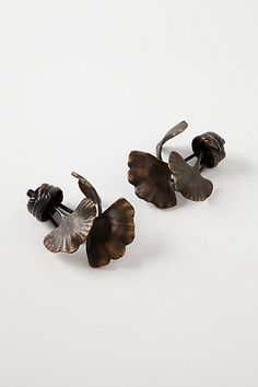 Ginkgo Leaf Finials   #anthropologie