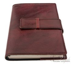 Manufactus Leren Notitieboek Roma a5 - Rosso Leather Journal, Journals, Magazines, Journal Art, Journal, Daily Diary, Notebook