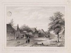 Zevenbergen, voor de windhoos augustus 1848