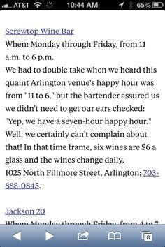 Best Outdoor Happy Hours