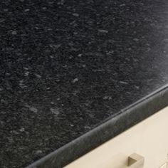 Black Granite Effect worktop