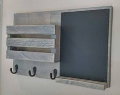 Mail Organizer Rustic Organizer Key Holder Mail от Rustastic