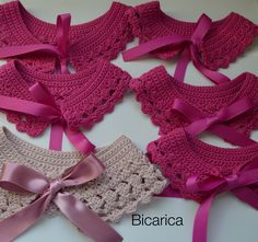 |Bicarica|Ropita artesanal para bebés y niños/Ropa artesanal para bebé hecha en casa/Handmade baby clothes Diy Crochet Cardigan, Crochet Collar Pattern, Crochet Shawl, Knit Crochet, Crochet Patterns, Crochet Girls, Love Crochet, Crochet For Kids, Crochet Hooks