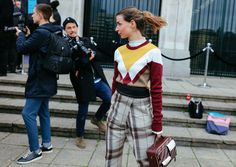 The Best Street Style Beauty From Phil Oh's London Fashion Week Fall 2017 Coverage